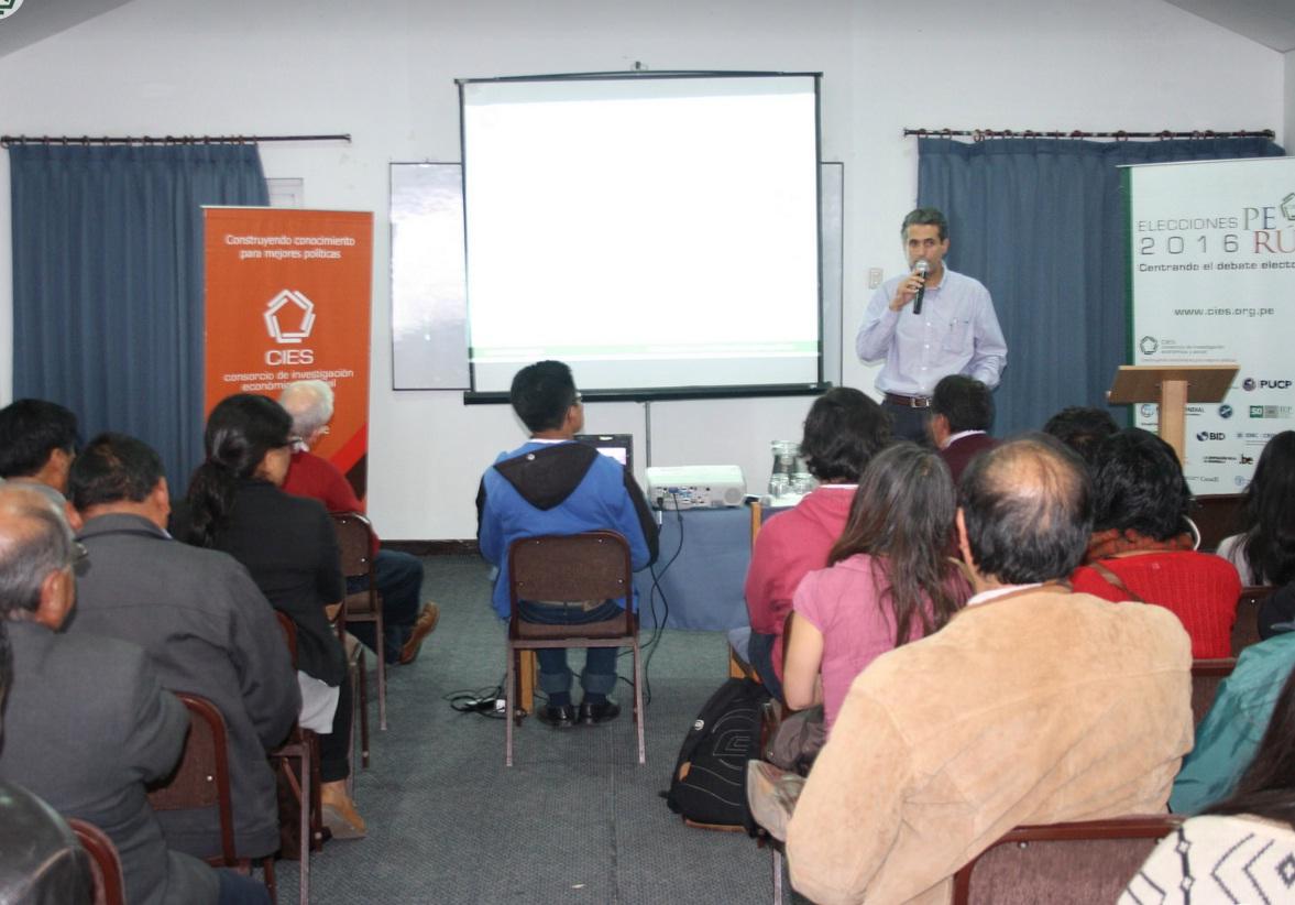 CUSCO: POLÍTICA ANTICORRUPCIÓN, DESCENTRALIZACIÓN, SEGURIDAD ALIMENTARIA, ACCESO UNIVERSAL A ENERGIA, INCLUSIÓN FINANCIERA Y CONSERVACIÓN DEL RECURSO HÍDRICO