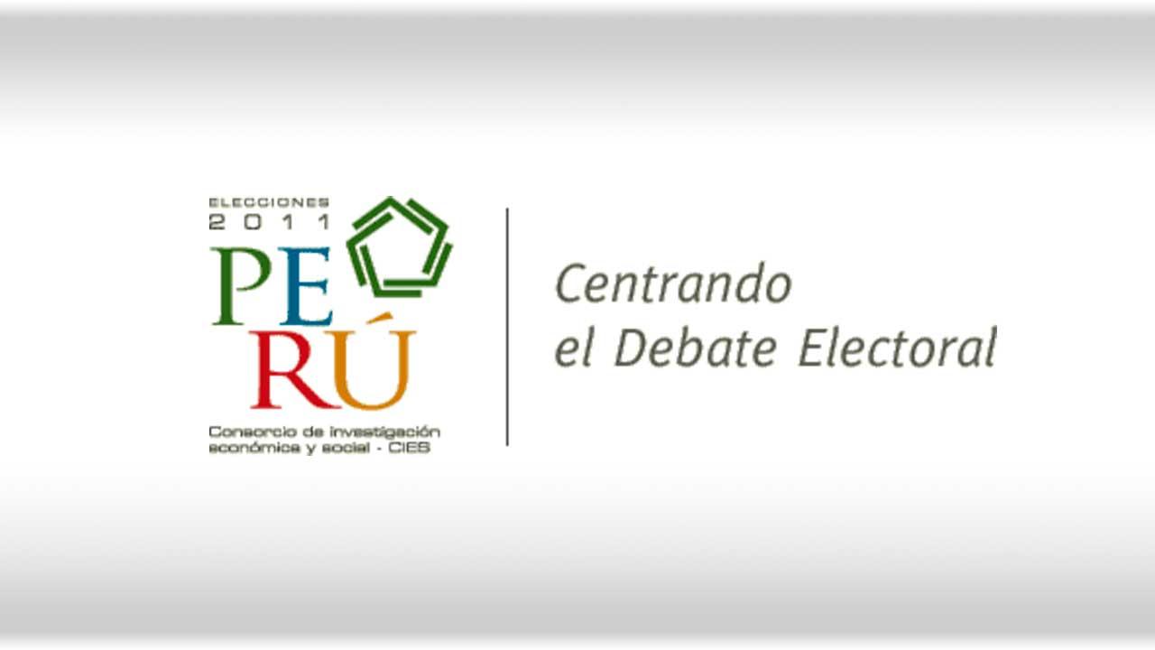 Infografía interactiva del debate presidencial organizado por el JNE, CIES y NDI