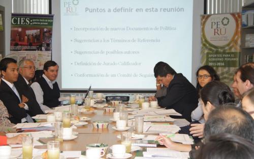 Elecciones Regionales 2014: Avances del Proyecto CIES