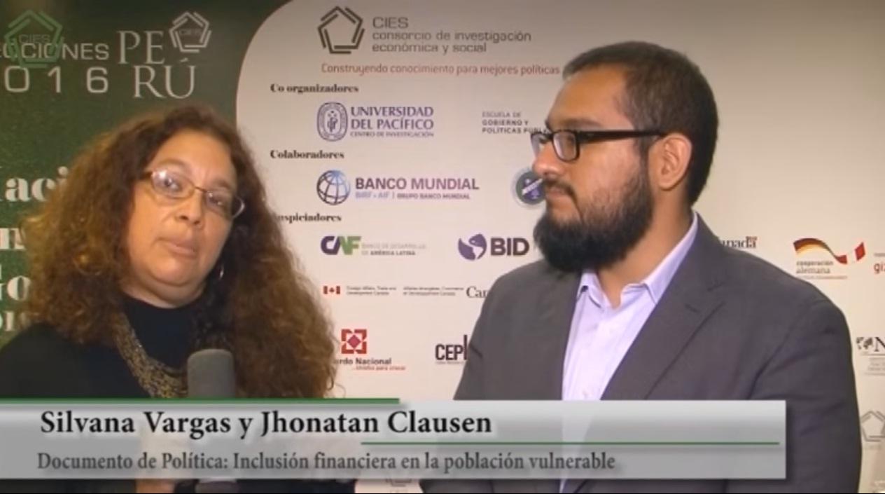 Desarrollo e inclusión social - Silvana Vargas y Jhonatan Clausen (PUCP)