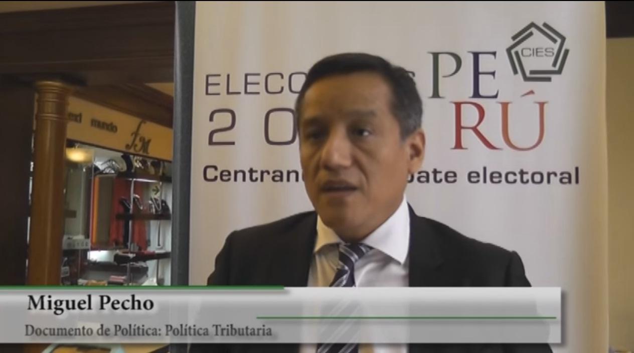 Política Tributaria - Miguel Pecho (CIAT)