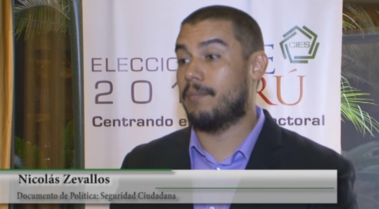 Seguridad Ciudadana - Nicolás Zevallos (PUCP)